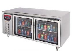 Tủ lạnh 2 cánh kính SLLZ4-520D-3BL